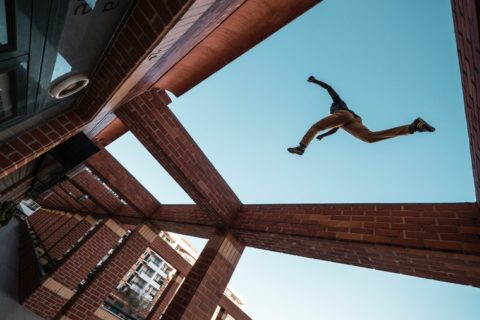gymnastics unlimited parkour class what is it